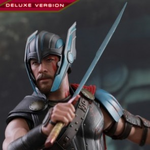 Hot Toys 1/6th Scale MMS445 Thor: Ragnarok Gladiator Thor (Deluxe Version) Figure