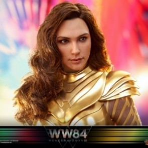 Hot Toys 1/6th Scale MMS577 Wonder Woman 1984 Golden Armor Wonder Woman Collectible Figure