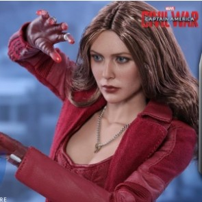 Hot Toys 1/6th Scale MMS370 Captain America Civil War: Scarlet Witch Collectible Figure