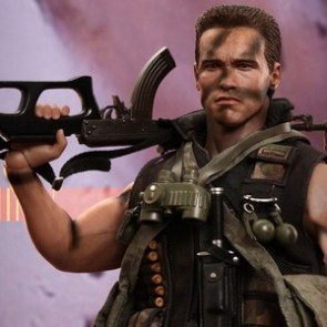 Hot Toys 1/6th Scale Commando John Matrix Collectible Figure
