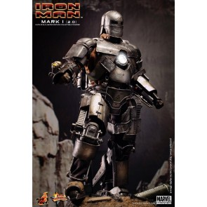 Hot Toys 1/6th Scale Iron Man Mark I (Version 2.0) Figure