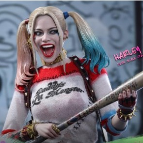 Hot Toys 1/6th Scale MMS383 Suicide Squad Harley Quinn Figure