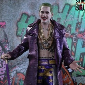 Hot Toys 1/6th Scale MMS382 Suicide Squad The Joker (Purple Coat Version) Figure