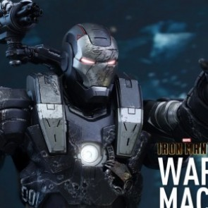 Hot Toys 1/6th Scale MMS331D13 Iron Man 2 War Machine Diecast Figure