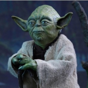 Hot Toys 1/6th Scale MMS369 Star Wars: Episode V Empire Strikes Back Yoda Collectible Figure