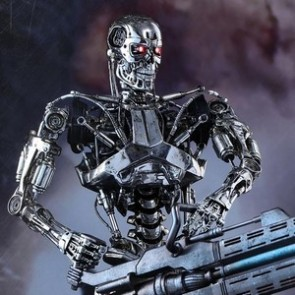 Hot Toys 1/6th Scale MMS352 Terminator Genisys Endoskeleton Collectible Figure