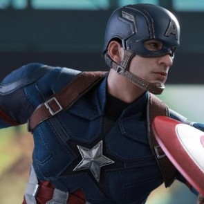 Hot Toys 1/6th Scale MMS350 Captain America: Civil War Captain America Collectible Figure