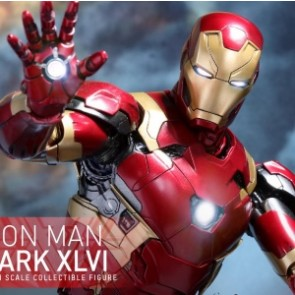 Hot Toys 1/6th Scale MMS353D16 Captain America: Civil War Mark XLVI Diecast Figure