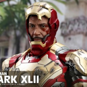 Hot Toys 1/4th Scale QS007 Iron Man 3 Mark XLII Collectible Figure