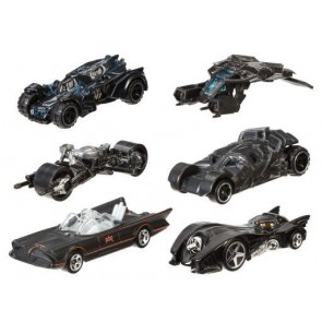 Hot Wheels 1:64 Scale 2015 Batman Batmobile Series