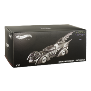Hot Wheels Elite 1:18 Scale Batman Forever Batmobile