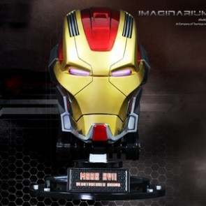 Imaginarium Art Iron Man 3 1:1 Scale Mark 17 Helmet