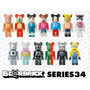 Medicom Toy Bearbrick Sealed Box of 24pcs: Series 34