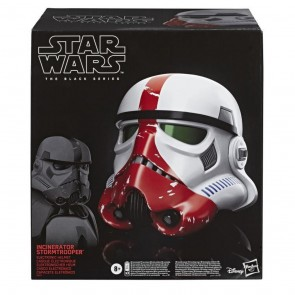 Hasbro Star Wars Black Series Incinerator Stormtrooper Helmet