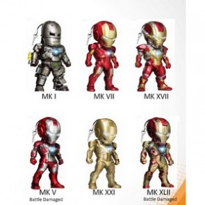 Kidslogic Iron Man 3 Earphone Plugy Series 003 Set of 6