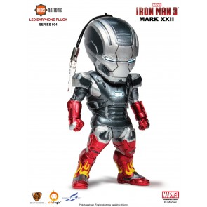 Kidslogic Iron Man 3 Earphone Plugy Series 004 Set of 6
