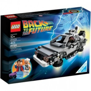 Lego 21103 The DeLorean Time Machine