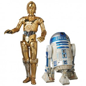 Medicom Mafex No. 012 Star Wars C-3PO & R2-D2 Figure