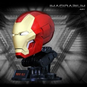 Imaginarium Art Iron Man 3 1:1 Scale Mark 42 Helmet