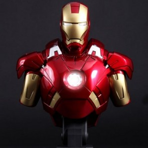 Hot Toys 1/4th Scale Iron Man 3 Mark VII Collectible Bust