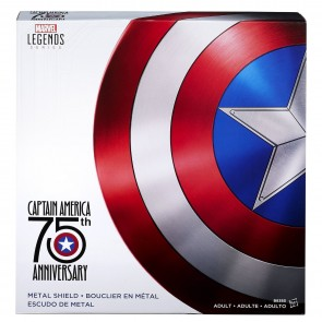 Hasbro Marvel Legends Captain America 75th Anniversary Metal Shield