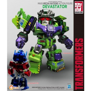 Kidslogic Mecha Nations MN08 Transformers Devastator