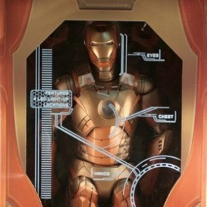 "Neca 18"" The Avengers Iron Man Gold Midas Action Figure"