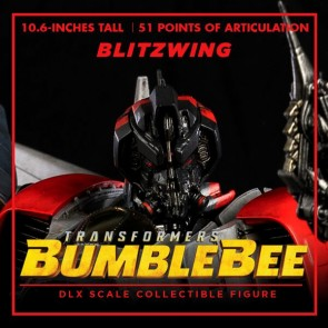 ThreeA Transformers Bumblebee DLX Scale Blitzwing Collectible Figure