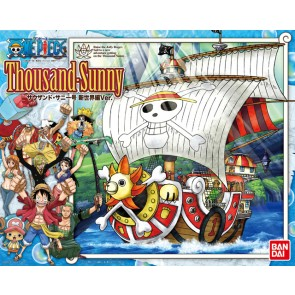 Bandai One Piece Thousand Sunny Ship New World Ver. Plastic Model Kit
