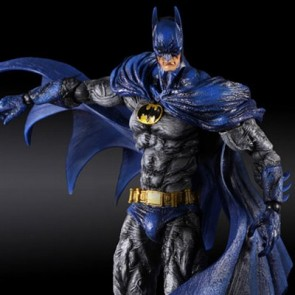 Playarts Kai Batman Arkham City 1970s Bat Suit Figure
