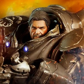 Sideshow 1/6th Scale StarCraft II Raynor Figure