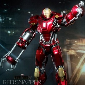 Hot Toys 1/6th scale Iron Man 3 Power Pose Red Snapper Collectible Figurine