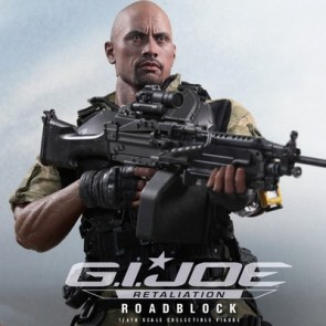 Hot Toys 1/6th Scale  GI Joe Retaliation Roadblock Collectible Figure