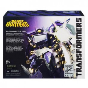 Hasbro SDCC Exclusive Transformers Prime Shockwave's Lab
