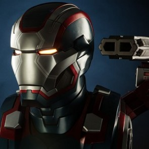 Sideshow Collectibles Iron Patriot Life-Size Bust