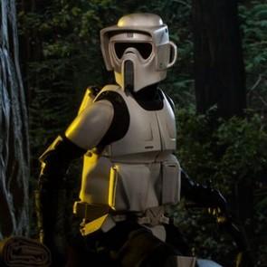 Sideshow 1/6th Scale Star Wars ROTJ Scout Trooper Figure