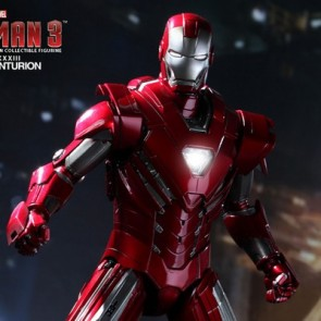 Hot Toys 1/6th Scale Iron Man 3 Silver Centurion Mark XXXIII Figure
