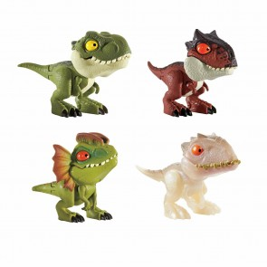 Mattel Jurassic World Snap Squad Mini Figures Set of 4 (Wave 2)
