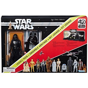 Star Wars A New Hope Black Series 40th Anniversary Darth Vader Legacy Pack