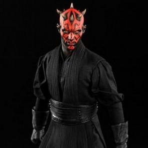 Sideshow 1/6th Scale Star Wars Episode I The Phantom Menace Darth Maul (Duel on Naboo)