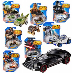Hot Wheels Star Wars Character Car (Set of 7)