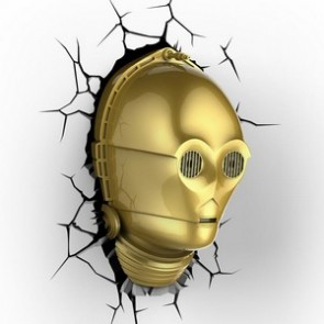3D LightFX Star Wars C-3PO Deco Light