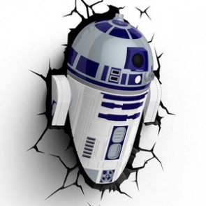 3D LightFX Star Wars R2-D2 Deco Light