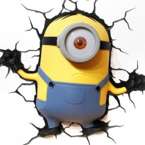 3D LightFX Minions Stuart Deco Light