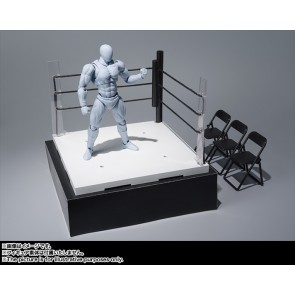 Bandai S.H.Figuarts WWE Tamashii Stage Ring Corner & Pipe Chair Set