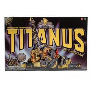 Bandai Power Rangers Legacy Titanus (Limited Black & Gold Edition)