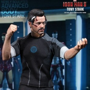Hot Toys 1/6th Scale Iron Man 3 Tony Stark Collectible Figure