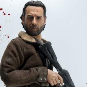 ThreeZero 1/6th Scale The Walking Dead Rick Grimes Figure
