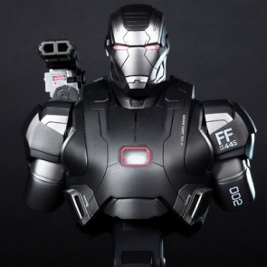 Hot Toys 1/4th Scale Iron Man 3 War Machine Collectible Bust
