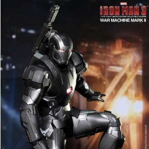 Hot Toys 1/6th scale Iron Man 3 War Machine Mark II Diecast Figure
